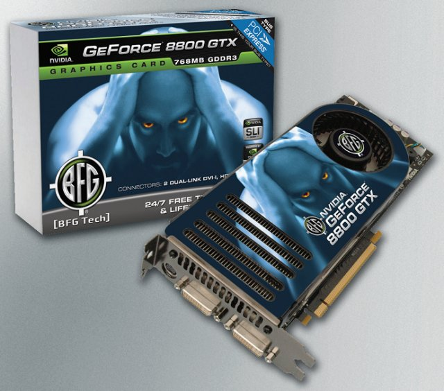Nvidia geforce 8800 gtx agp