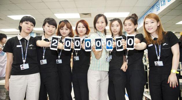 Samsung: 20 milioni di Galaxy S III venduti in 100 giorni