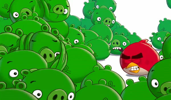 Bad Piggies: il sequel di Angry Birds