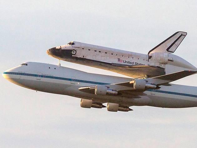 Ultimo viaggio per la navicella spaziale Endeavour