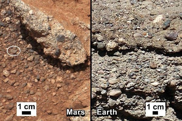 Curiosity trova tracce di acqua su Marte