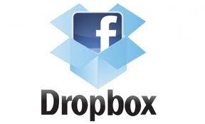 Facebook, condivisione di file tramite Dropbox