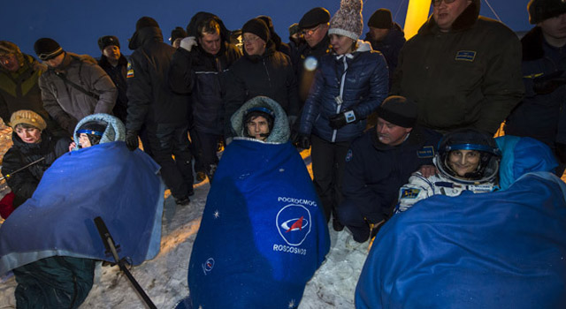 Soyuz: tre astronauti tornano a casa dalla ISS