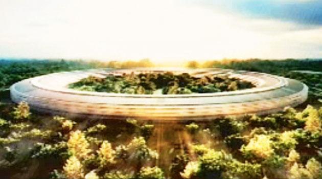 Apple iSpaceship, la nuova sede-astronave di Cupertino