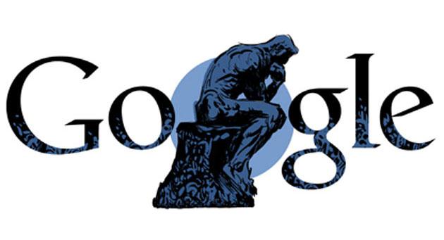 Google Doodle celebra Auguste Rodin