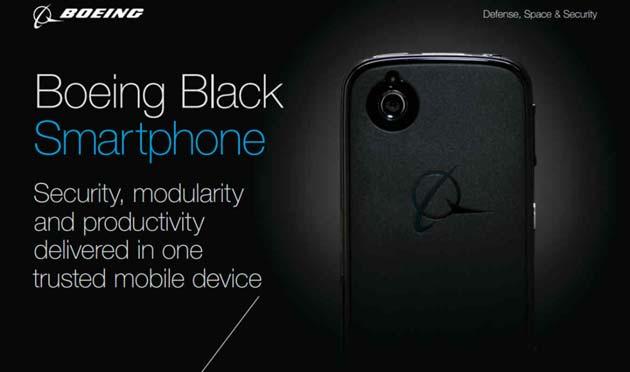 Boeing Black, il telefonino che si autodistrugge