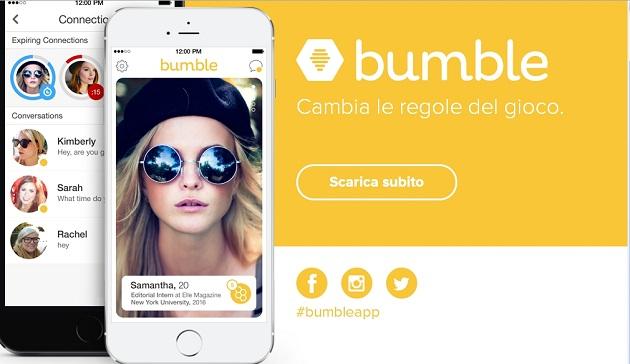 Bumble, il social per le single