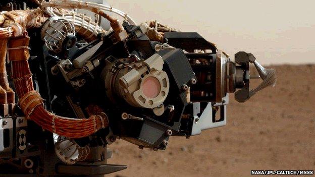 Curiosity respira l'aria di Marte