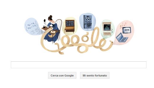 Google Doodle omaggia Ada Lovelace