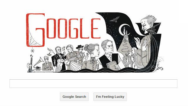 Dracula: Google festeggia Bram Stoker