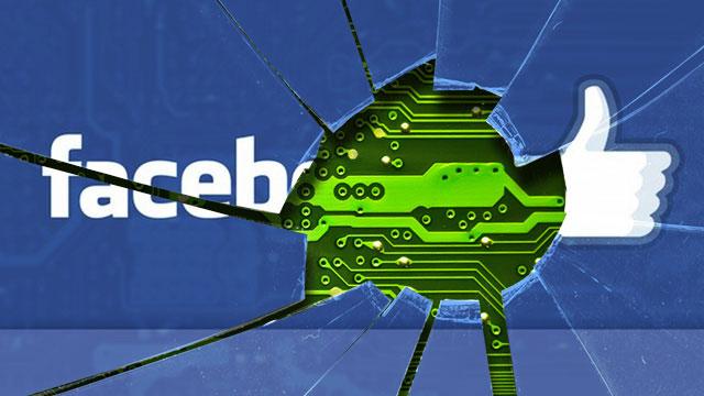 Facebook: server hackato, ma dati utenti in salvo