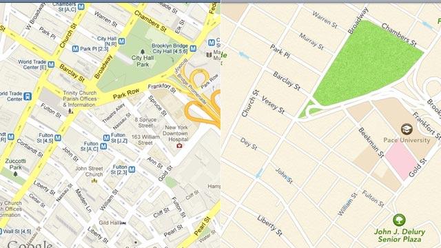 Sono tornate le mappe di Google su iOS 6