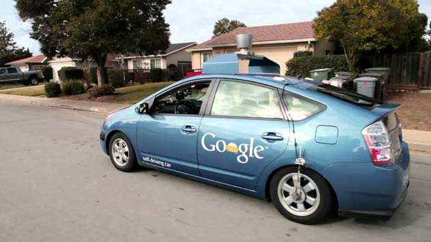 L'auto senza conducente by Google