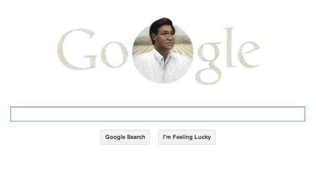 USA: Google doodle dedicato a Chavez invece della Pasqua