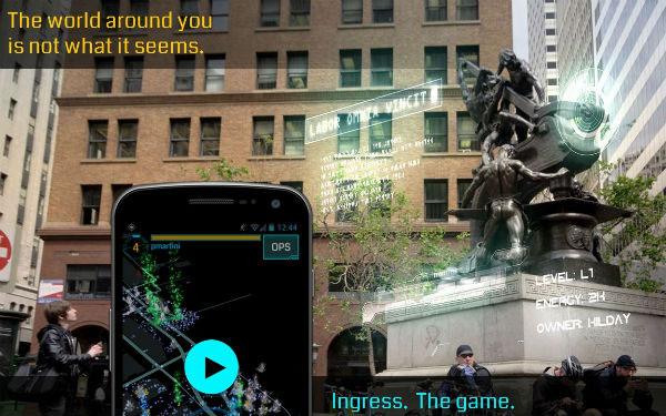 Ingress: Google lancia un gioco mobile che si gioca nel mondo reale