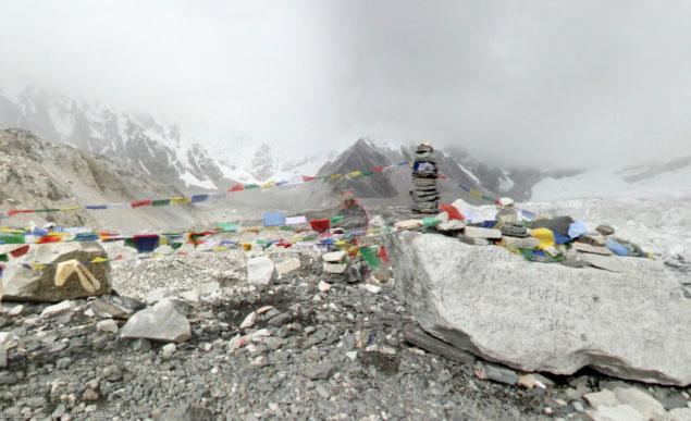 Google Street View ci porta sull'Everest e sul Klimanjaro