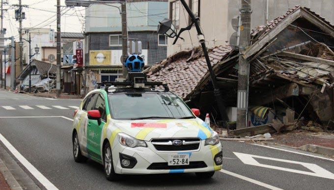 Google Street View a Fukushima