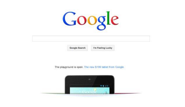 Google Nexus 7 3G a Ottobre