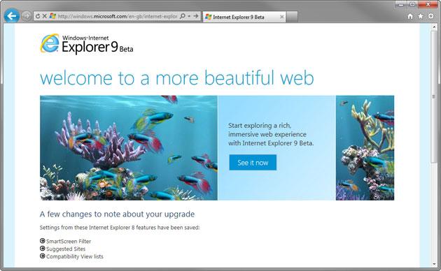 Finta pubblicità distrugge Internet Explorer 9