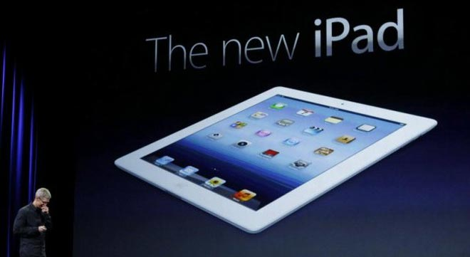 Apple: nuovo iPad a Marzo