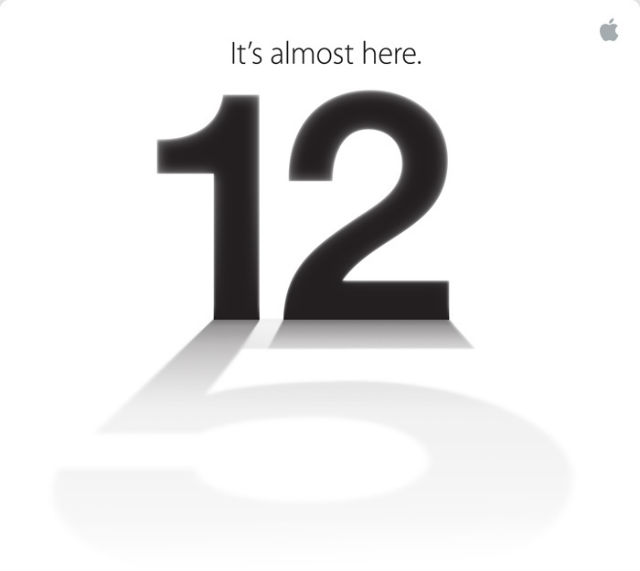 Apple: iPhone 5, inviti per il 12 Settembre