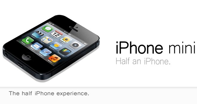 Apple: iPhone mini nel 2014?