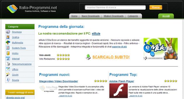 Italia-Programmi.net. Nuovi solleciti stesso consiglio: non pagare!
