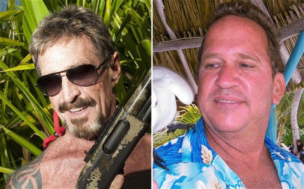 John McAfee catturato sul confine tra Belize e Messico?