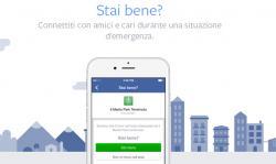 Safety Check by Facebook, per rassicurare i propri cari in caso di disastro
