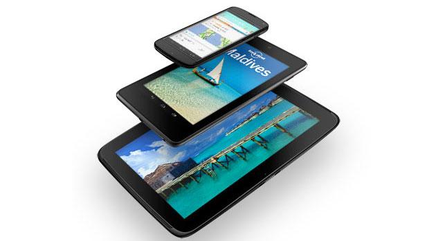 Google presenta il Nexus 4, Nexus 10 e il Nexus 7