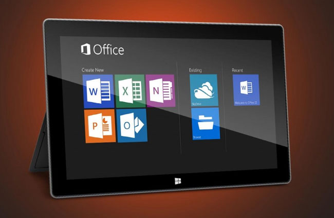 Microsoft svela Office 2013 per Windows RT