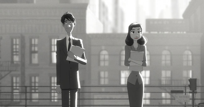 Paperman: il bellissimo cortometraggio della Disney