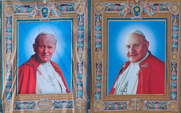 Web mobilitato per la canonizzazione di Giovanni XXIII e Giovanni Paolo II