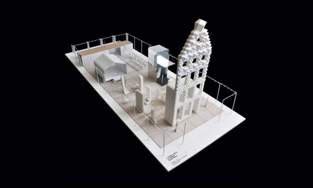 Stampa 3D: completato primo angolo di una casa ad Amsterdam