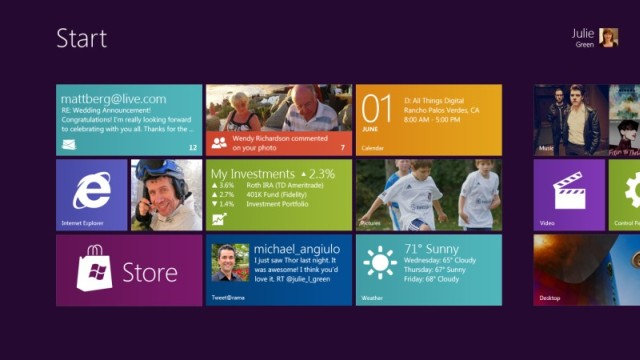 Per Microsoft Windows 8 sta andando bene