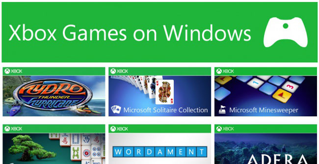 Windows 8: ecco i 40 giochi per Xbox live disponibili