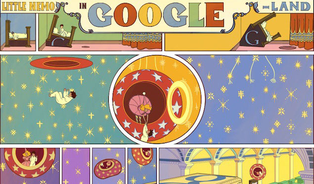 Google Doodle omaggia Winsor McCay